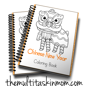 Chinese New Year Coloring Book 3D
