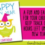 Paper Chain New Year Countdown