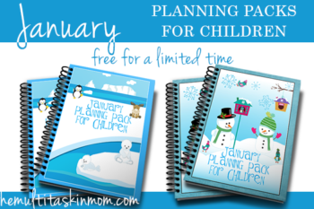 January Planning Packs – Free for Limited Time