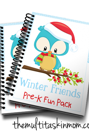 Winter Friends PreK Fun Pack