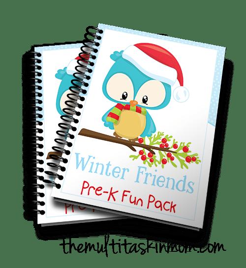 Winter Friends PreK Fun Pack
