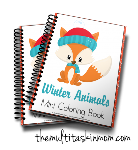 get yours now - Mini Coloring Books