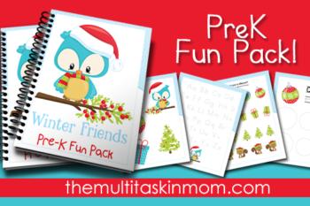 Winter Friends PreK Pack