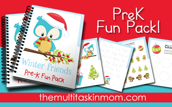 Winter Friends PreK Pack