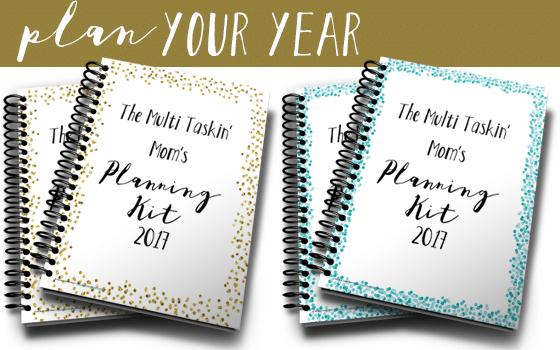 The Multi Taskin' Mom Planning Kit 2017