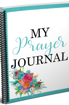 Grab your updated My Prayer Journal