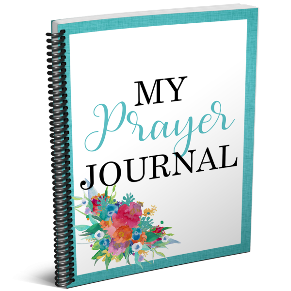 Grab your updated My Prayer Journal