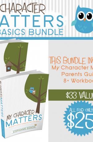 My Character Matters 8+ Basic Bundle