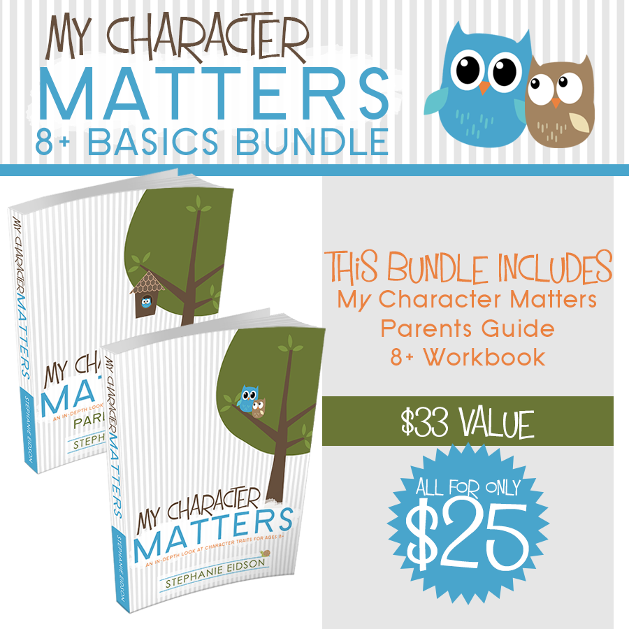 My Character Matters 8+ Basic Bundle