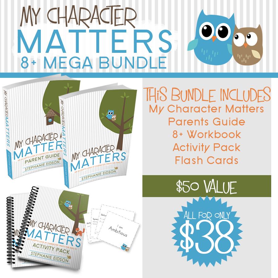 My Character Matters 8+ MEGA Bundle