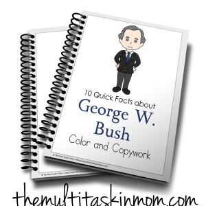 Facts about George W Bush