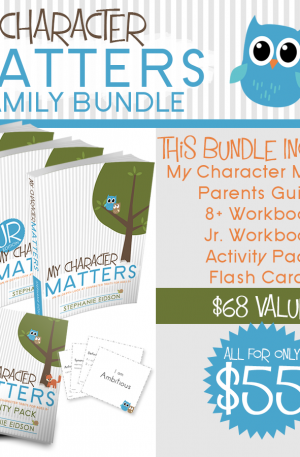 My Character Matters Family Bundle