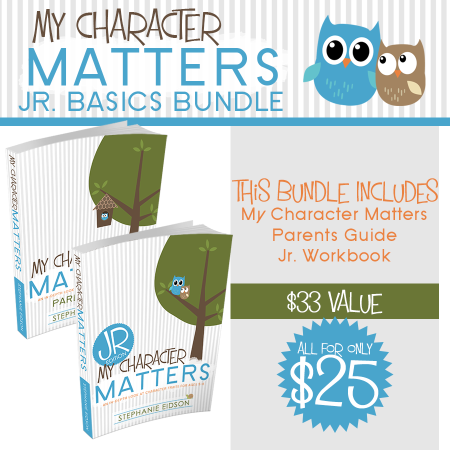 My Character Matters Jr. Basic Bundle