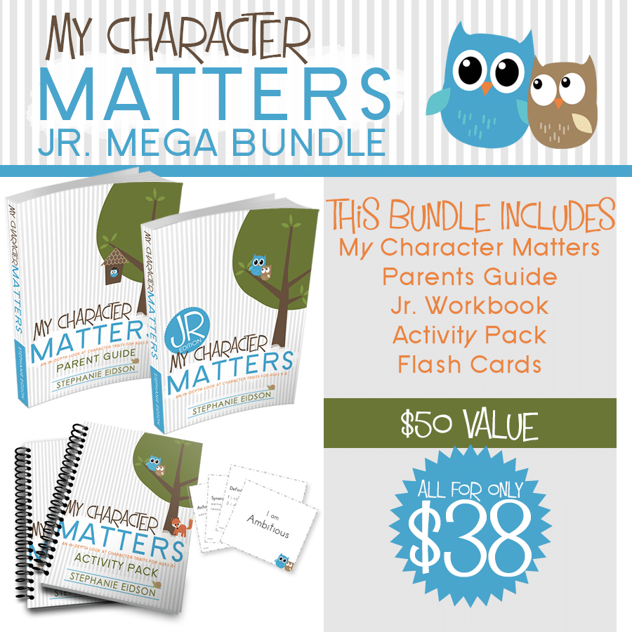 My Character Matters Jr. Mega Bundle
