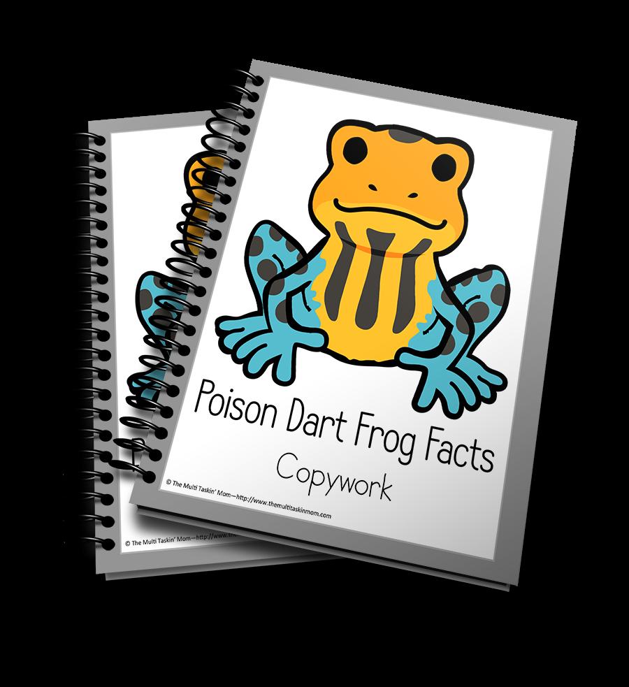Poison Dart Frog Copywork