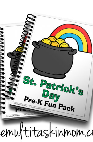 St. Patrick's Day PreK Fun Pack