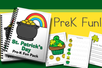 St. Patrick's Day PreK Fun Pack