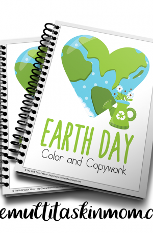 Earth Day Color and Copywork