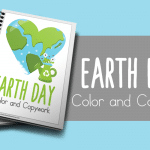 Earth Day Facts Color and Copywork