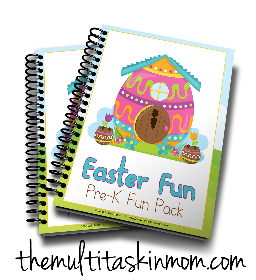 Bunnies and Eggs PreK Fun Pack