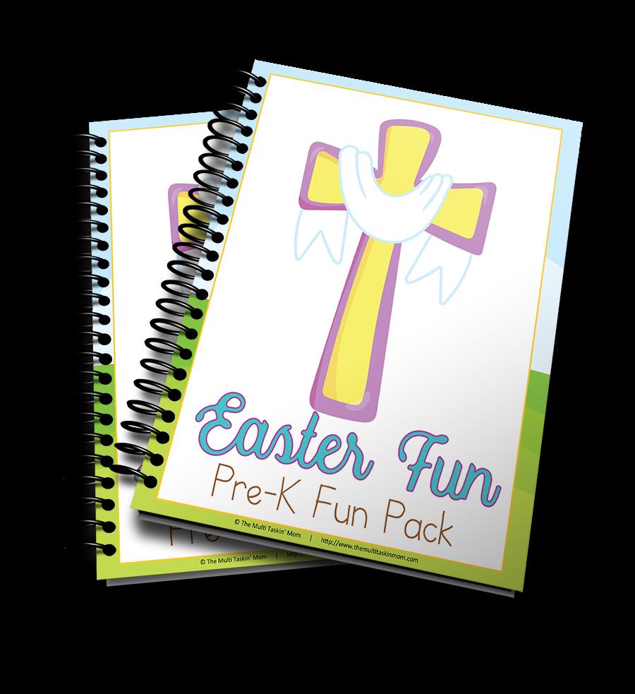 Crosses and Lambs Easter Themed PreK Fun Pack
