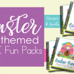 New Easter Themed PreK Fun Packs
