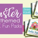 New Easter Themed PreK Fun Packs