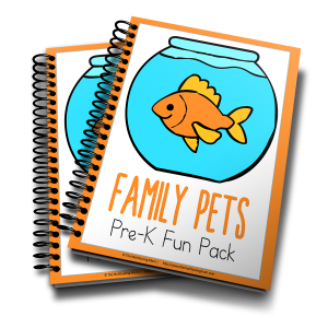Family Pets PreK Fun Pack 3D