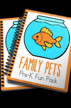 Family Pets PreK Fun Pack