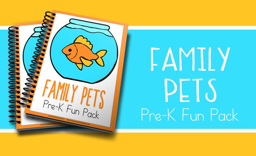 Family Pet Pre-K Fun Pack