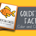 Goldfish Facts Color and Copywork