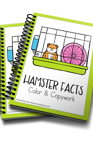 Hamster Facts Color & Copywork