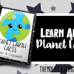 Planet Earth Facts Color and Copywork