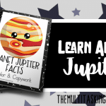Planet Jupiter Facts Color and Copywork