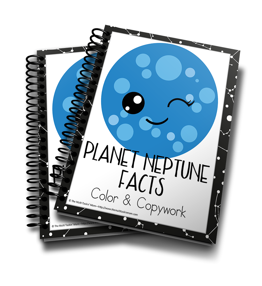 Planet Neptune Facts Color and Copywork