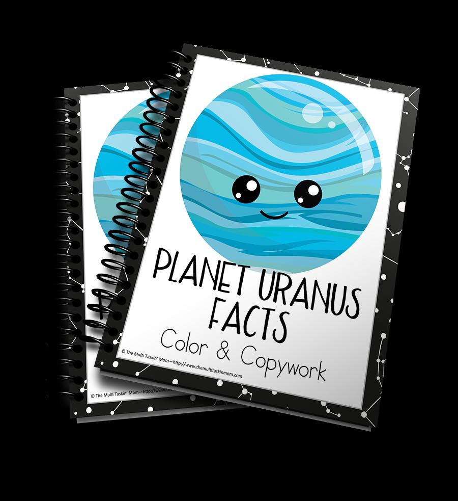 Planet Uranus Facts Color & Copywork