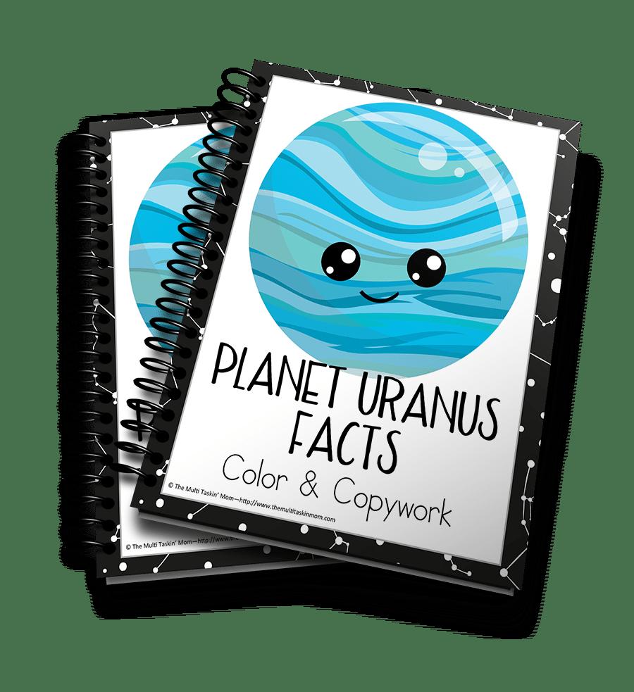 Planet Uranus 3D