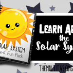 Solar System Prek Fun Pack