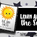 The Sun Facts Color and Copywork