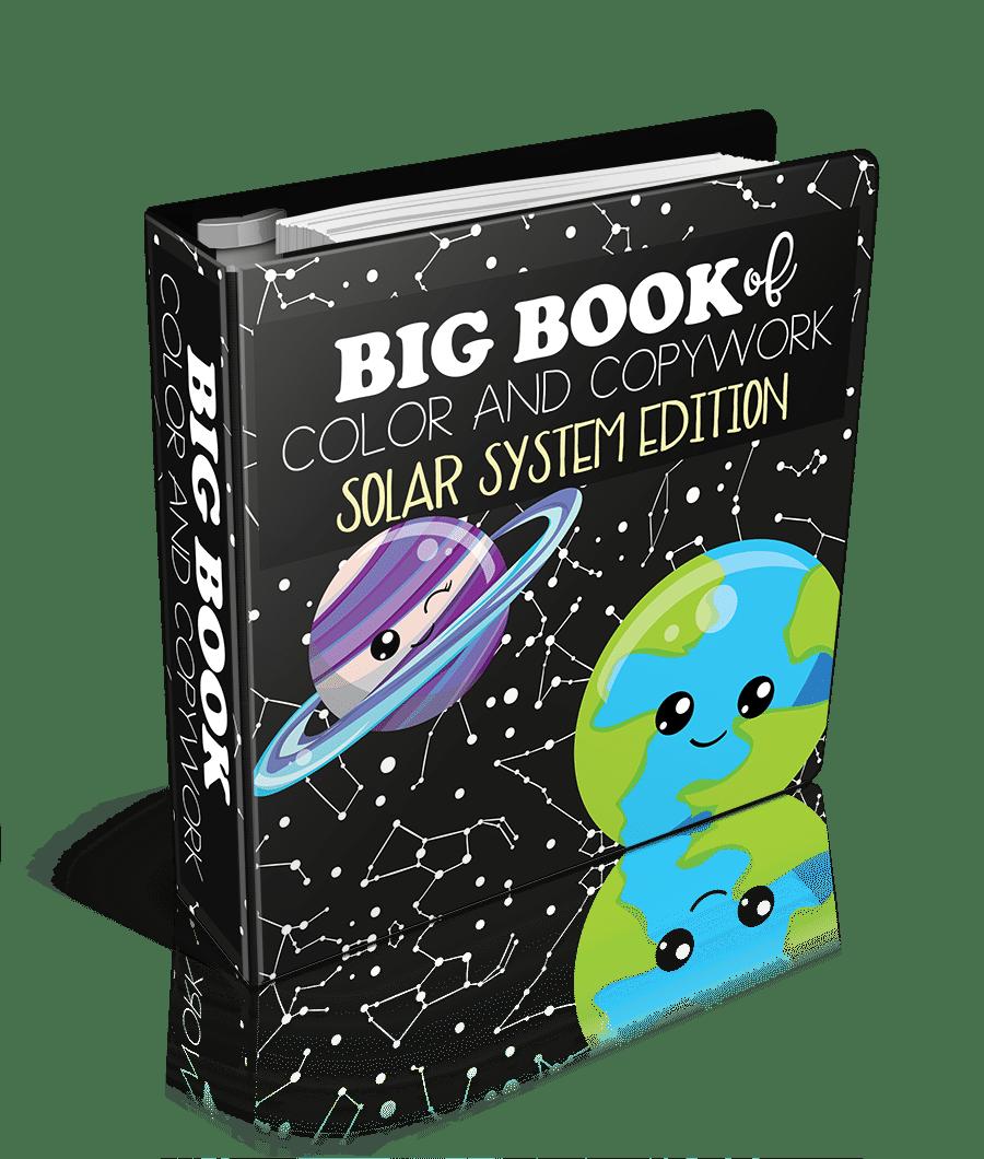 Big Book of Color and Copywork Solar System