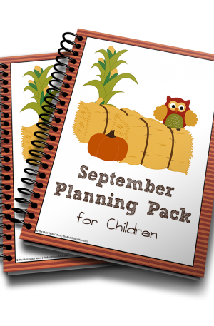 Fall Owls September Planning Pack for Children