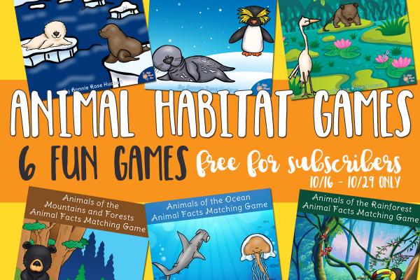 Animal Habitat Games Limited Time Subscriber Freebie