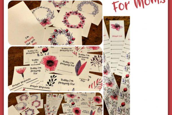 Prayer Card Set for Moms