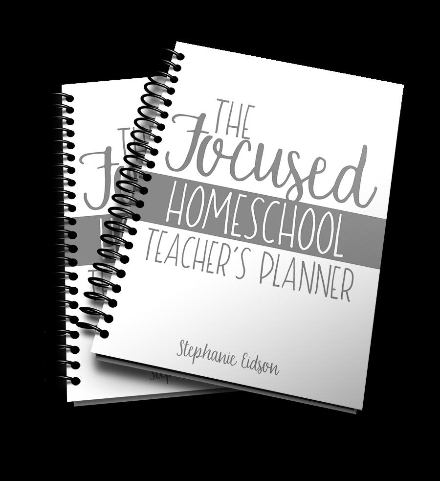 The Focus Homeschool Teacher's Planner