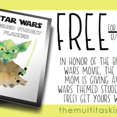 Star Wars Planner Free for Limited Time