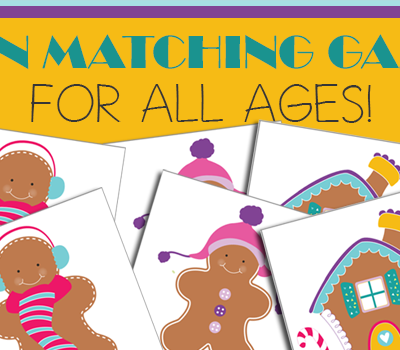 Gingerbread Matching Game