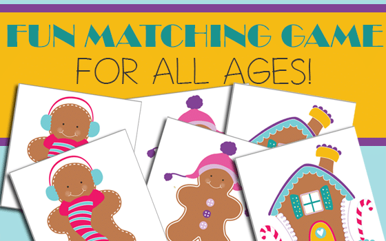 Gingerbread Matching Game