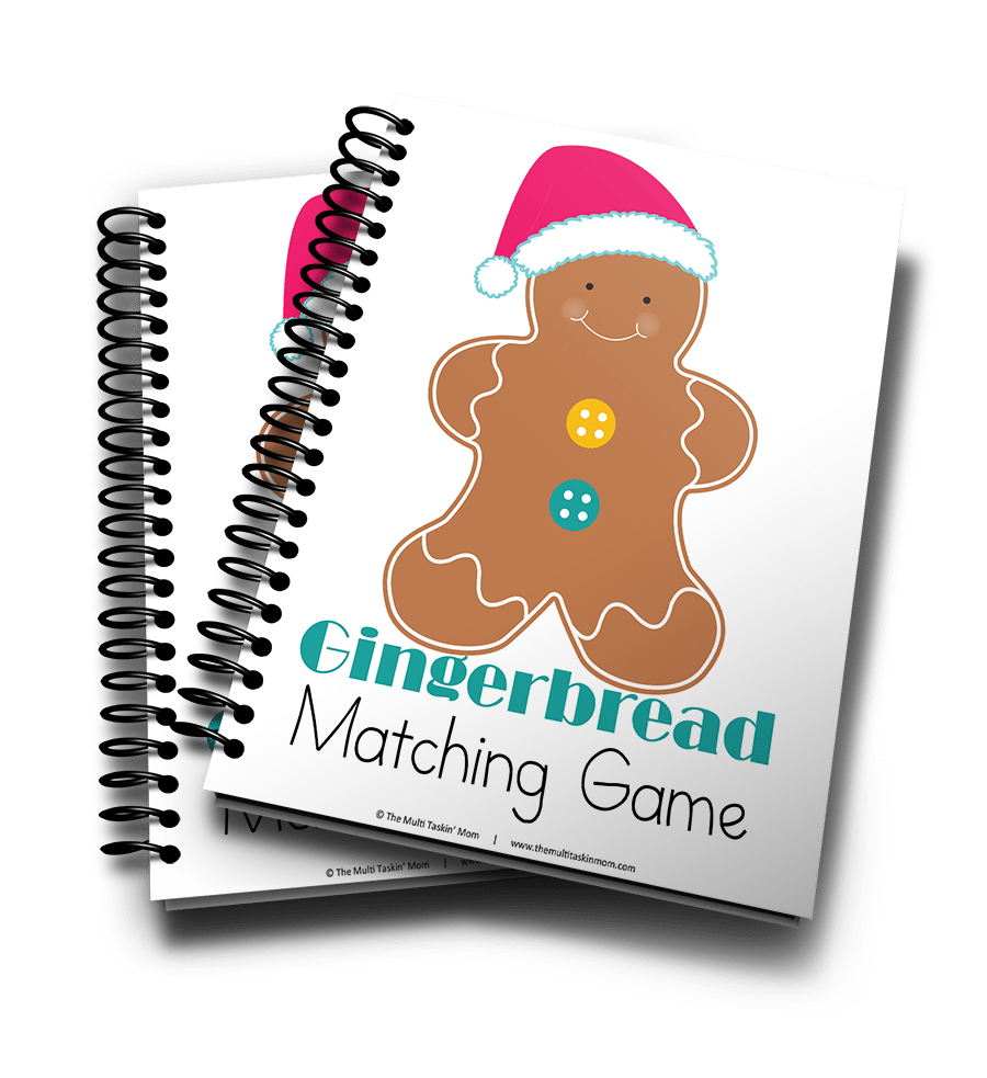 Gingerbread Matching Game 3D