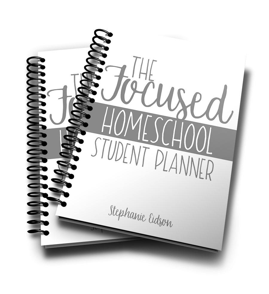 The Focus Homeschool Student Planner