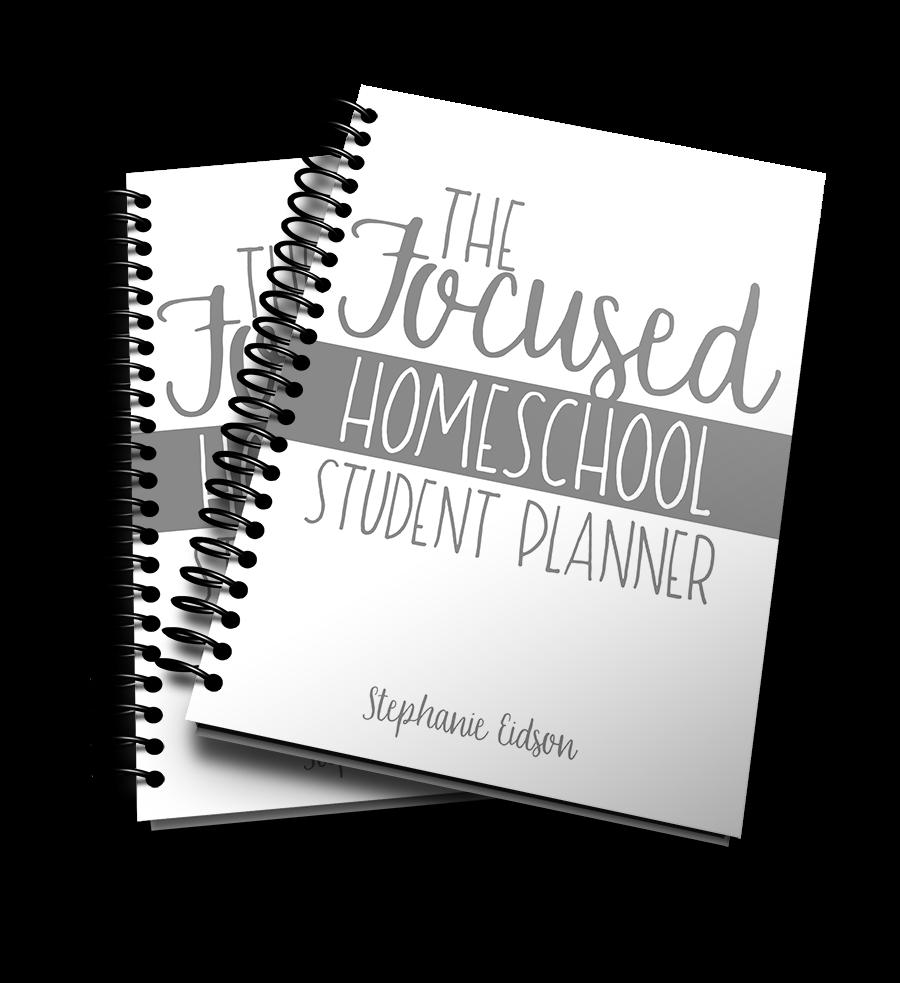 The Focus Homeschool Planner Bundle